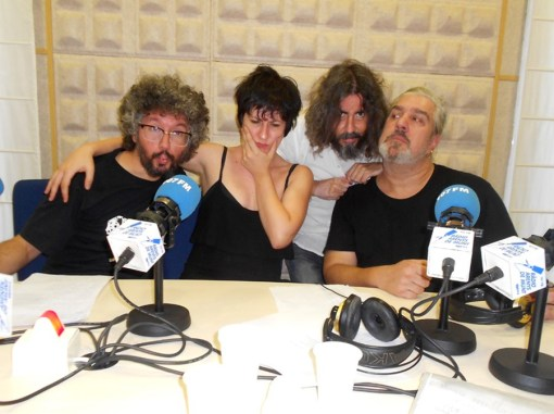 Periklis Kordolainis, Alba Tor, Michel Sama y Karlos Kosas